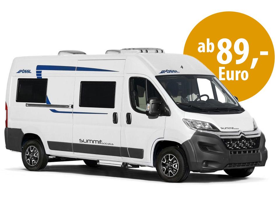 Caravan mieten in der Lausitz